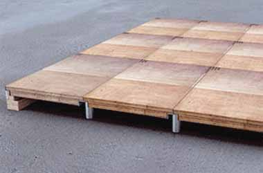 Exhibition Wooden Platform on Rent Hire Mumbai Platform Supplier for Event & Exhibition