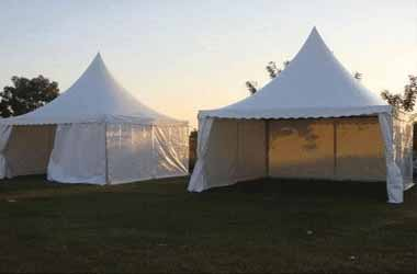 Pagoda Tents on Rent Hire Mumbai Tent Supplier for Event & Exhibition